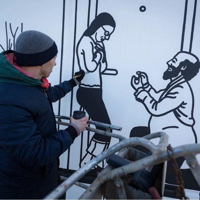 Минский стрит-арт (5 фото)