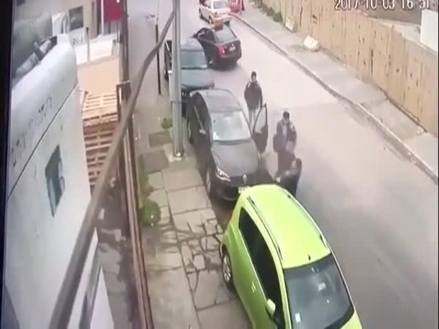 Как угоняют автомобили в Бразилии
