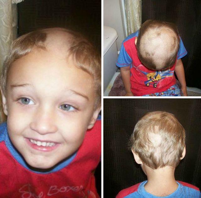 Детишки решили подстричься (25 фото)