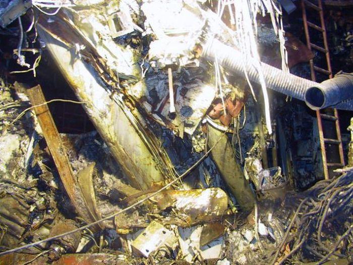 Водолаз рассказал о погружениях к подводной лодке «Курск» (27 фото)