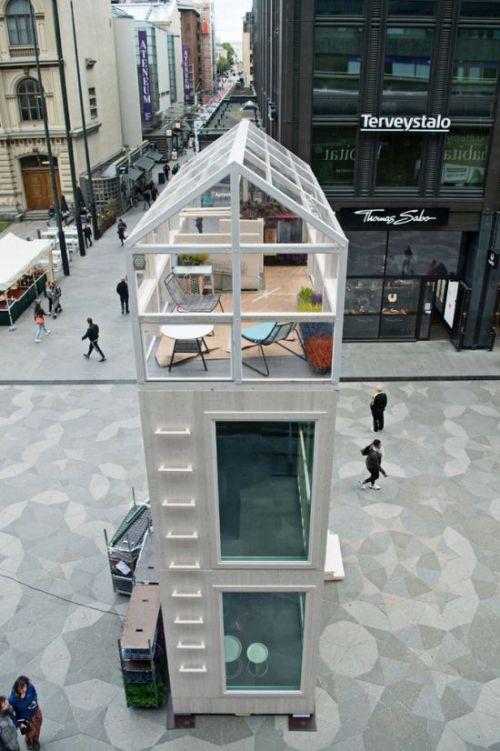 Компактный дом архитектурной студии Casagrande Laboratory (8 фото)
