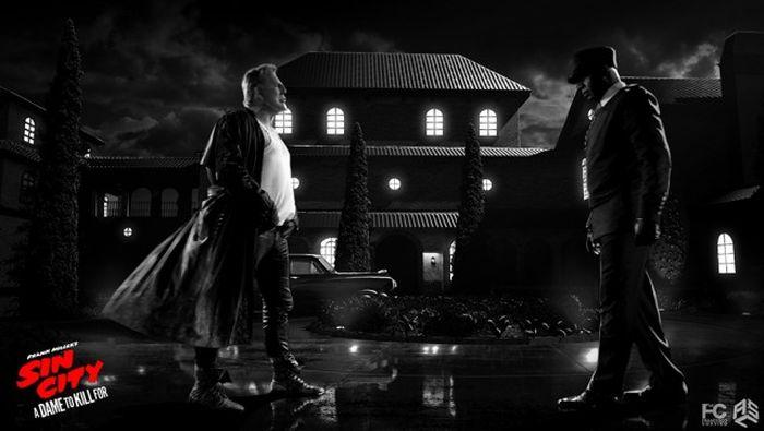 Спецэффекты фильма «Город грехов 2: Женщина, ради которой стоит убивать» (23 фото)