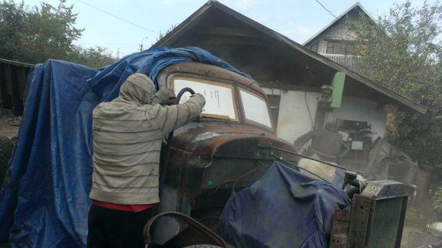 Вторая жизнь советского грузовика ЗиЛ-164 (22 фото)