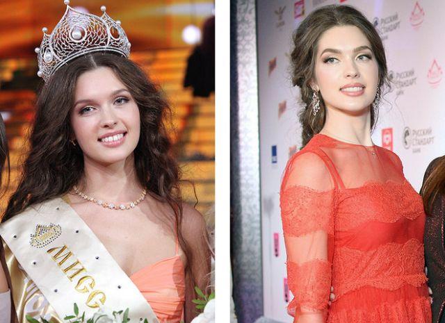 Прекрасные обладательницы титула «Мисс Россия» (8 фото)