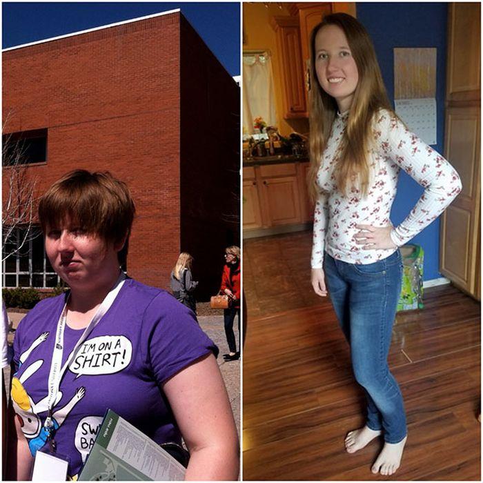 Невероятные преображения людей, страдавших от лишнего веса (24 фото)