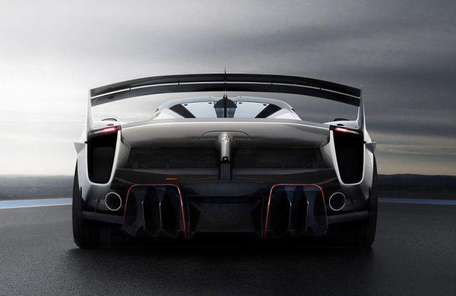 Компания Ferrari представила гиперкар FXX K Evoluzione (6 фото)