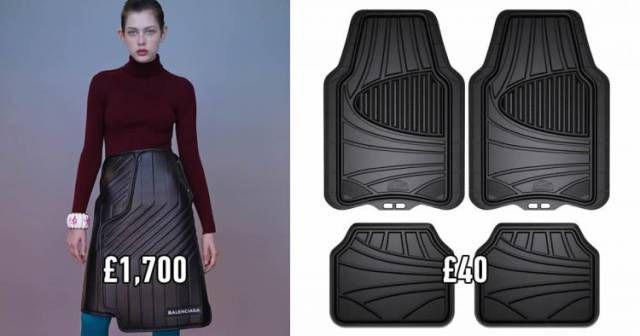 Эксклюзивная дизайнерская юбка за 2300 долларов (4 фото)