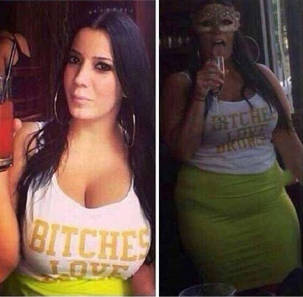 Не верьте фотографиям девушек из социальных сетей (15 фото)