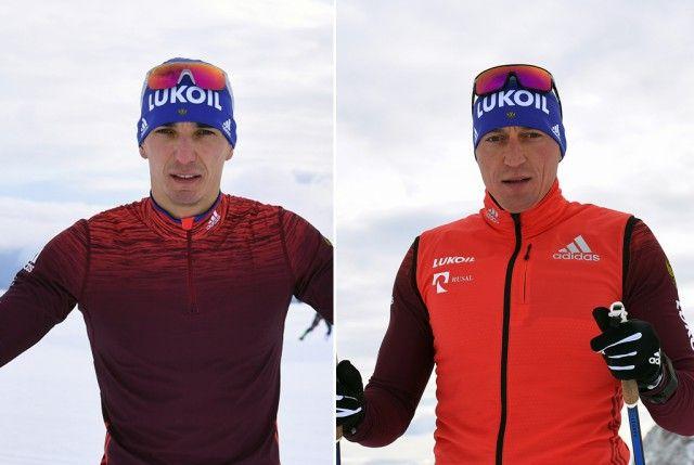 Российским лыжникам Александру Легкову и Евгению Белову запретили выступать на Олимпиадах (2 фото)
