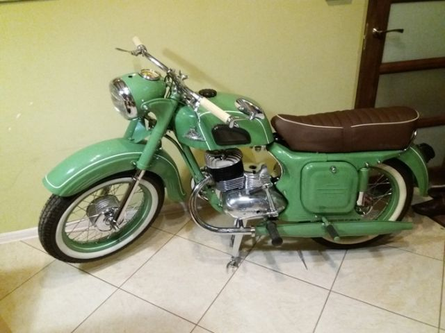 Реставрация мотоцикла Ковровец (18 фото)