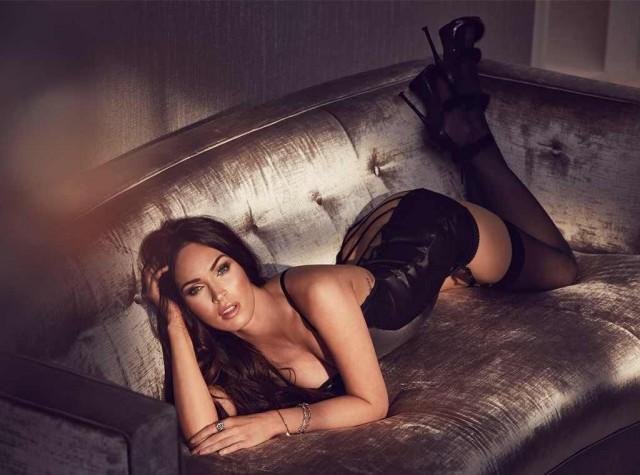 Меган Фокс снялась в рекламе нижнего белья (8 фото)