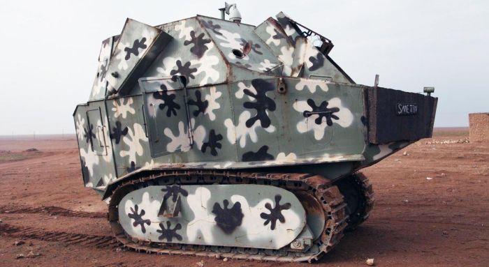 Самодельная бронетехника (26 фото)