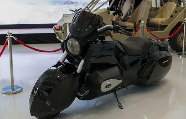 Концерн «Калашников» создал эскортный мотоцикл ИЖ для проекта «Кортеж» (9 фото)