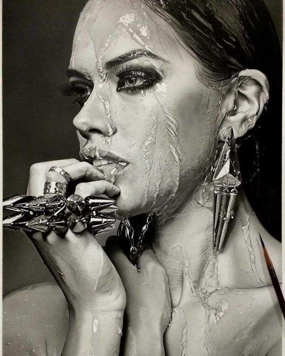 Кохеи Омори - талантливый художник, работающий в жанре гиперреализм (12 фото)