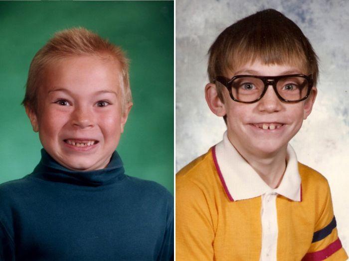 Не самые удачные школьные фото (20 фото)