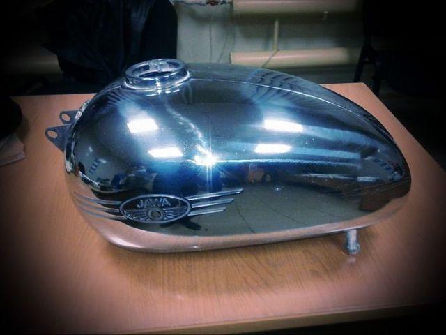 Чудесное преображение мотоцикла Jawa 350 1963 года выпуска (18 фото)