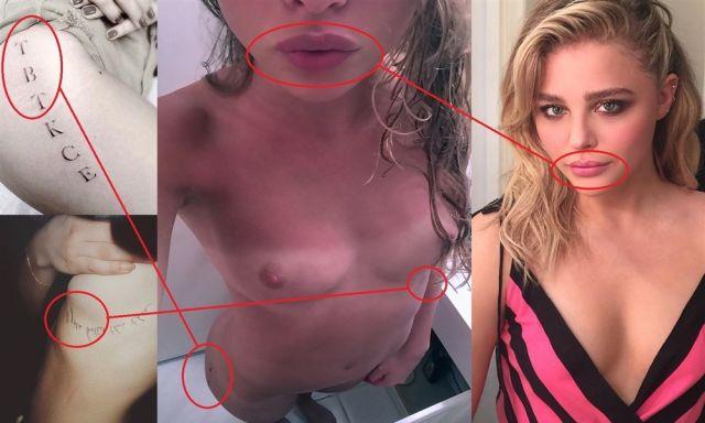 Хакеры опубликовали интимное фото «Убивашки» Хлои Морец (2 фото)