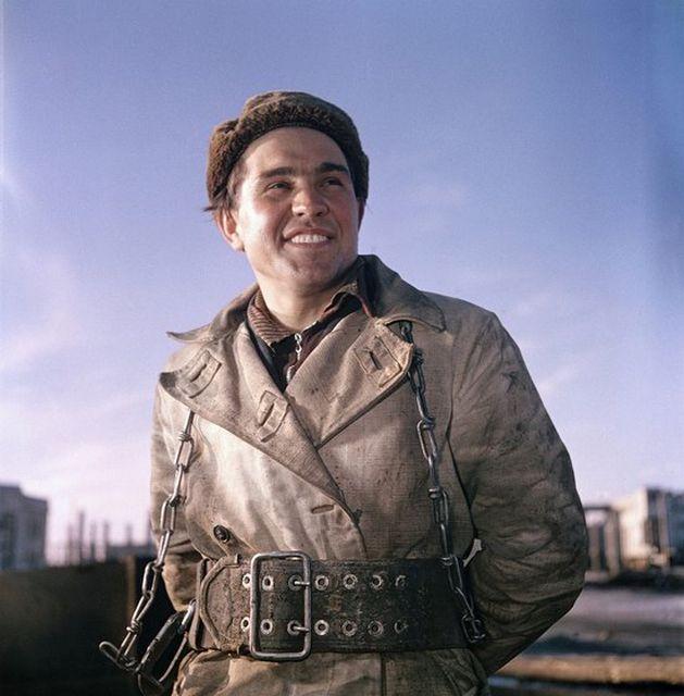 Фото повседневной жизни в СССР в 50-е от Семена Фридлянда (22 фото)