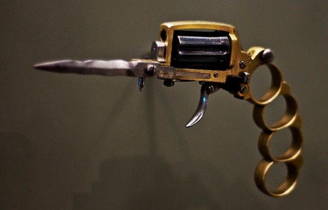 Самое необычное оружие (10 фото)