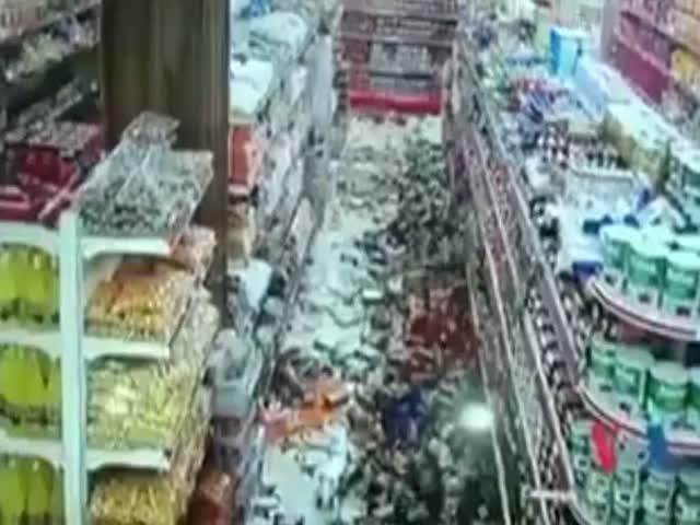 Мощное землетрясение на границе Ирана и Ирака