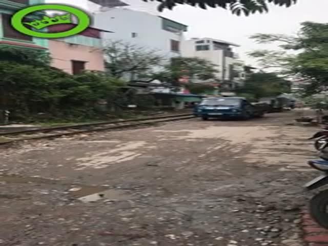 Как не следует парковать автомобиль