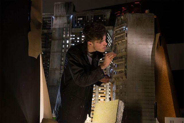 Изготовление декораций для фильма «Бегущий по лезвию 2049» (16 фото)