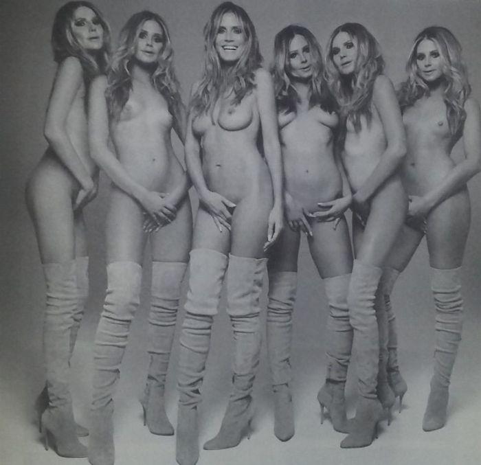 В сеть попали голые фото супермодели Хайди Клум (36 фото)