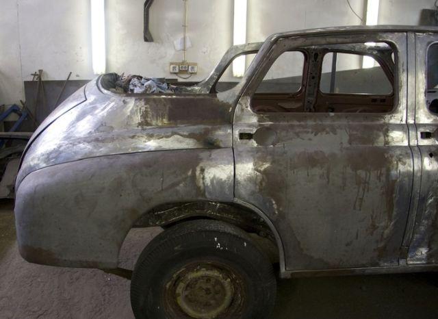Вторая жизнь кабриолета ГАЗ-20 «Победа» (25 фото)