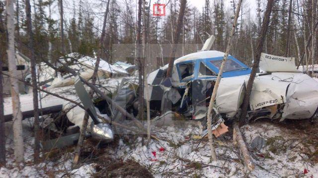 В Хабаровском крае разбился пассажирский самолет Л-410 (2 фото)