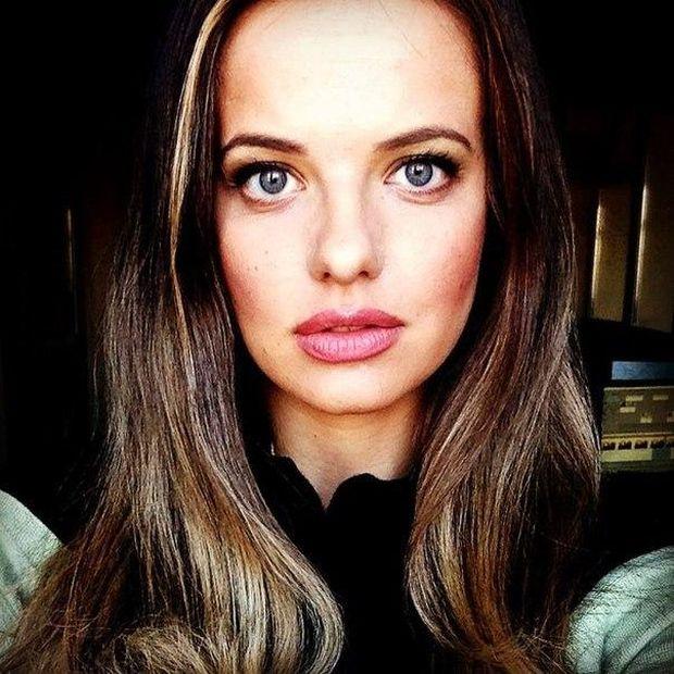 Пресс-секретарем министра обороны Сергея Шойгу стала 26-летняя Россияна Марковская (4 фото)