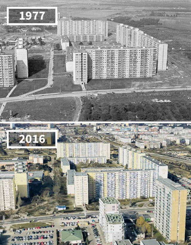 Как меняются со временем различные места (30 фото)
