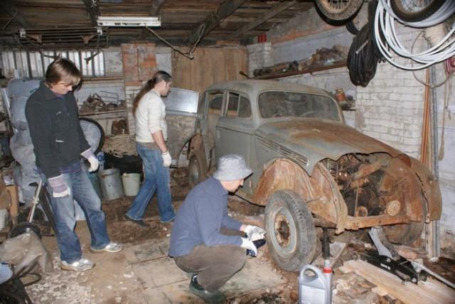 Возвращение к жизни «Москвич-401» (24 фото)