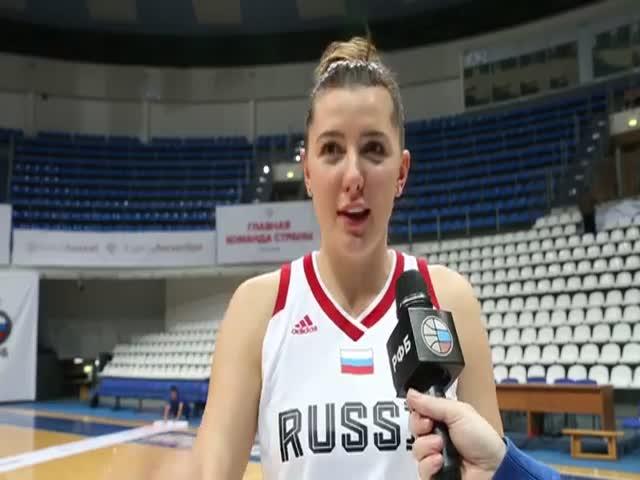 Незабываемое интервью российской баскетболистки Ксении Тихоненко