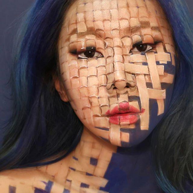 Оптические иллюзии от корейского визажиста Дайн Юн (23 фото)