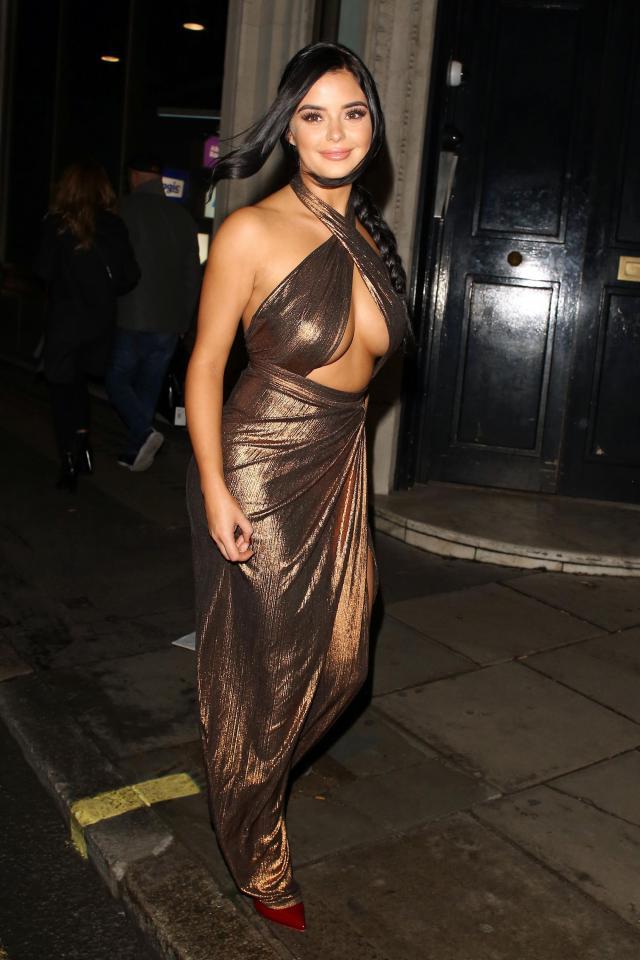 Засвет британской модели Деми Роуз (8 фото)