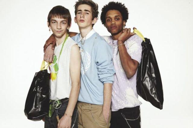 Модные кожаные сумки, выполнили в виде мусорного пакета (5 фото)