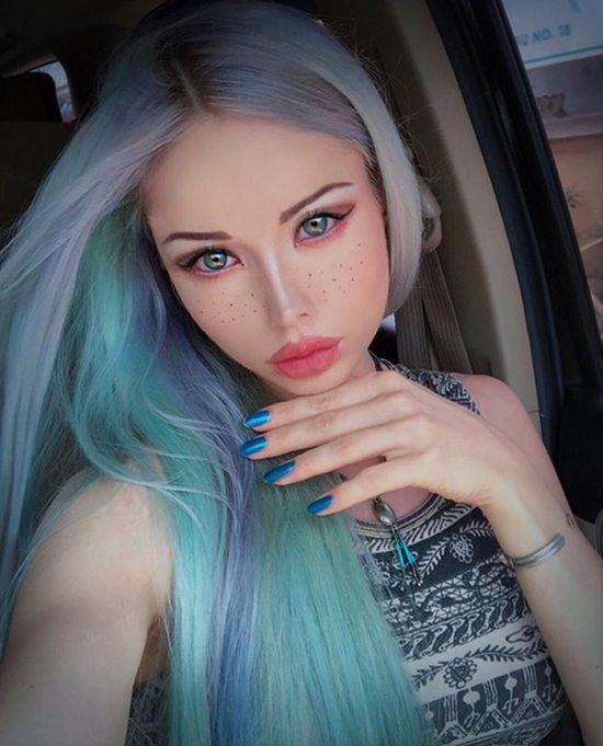 «Одесская Барби» Валерия Лукьянова (Аматуе) обновила имидж (5 фото)