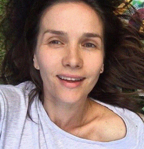 Звезда сериала «Дикий ангел» Наталья Орейро опубликовала селфи без макияжа (2 фото)