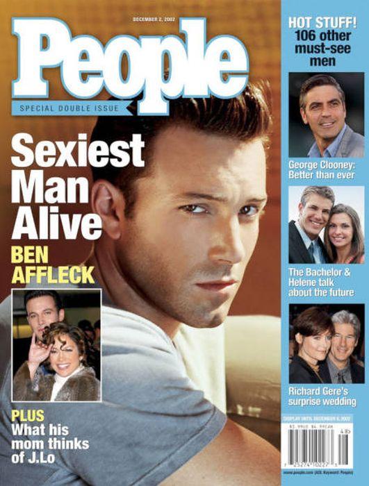 Самые сексуальные мужчины по версии журнала People (80 фото)
