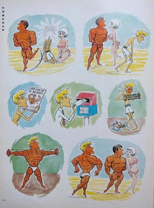 Карикатура в мужском журнале Playboy (2 фото)