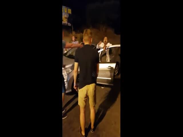 Русский турист подрался с итальянцем