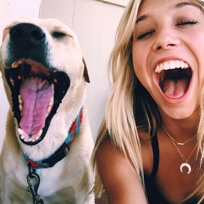 Смешные фото девушек (31 фото)