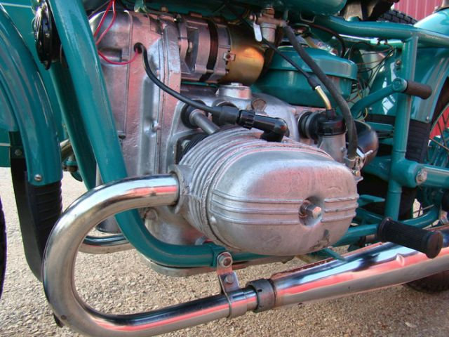 Мотоцикл «Урал» М-67-36 1981 года с пробегом 5 км (13 фото)