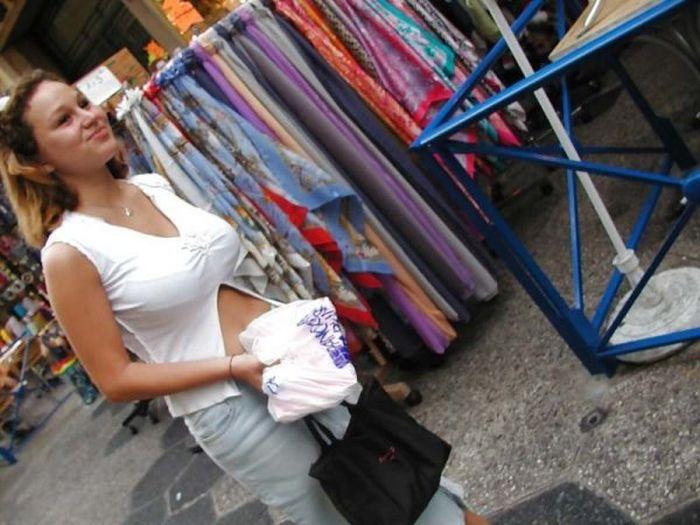 Девушки с натуральной грудью внушительных размеров (26 фото)
