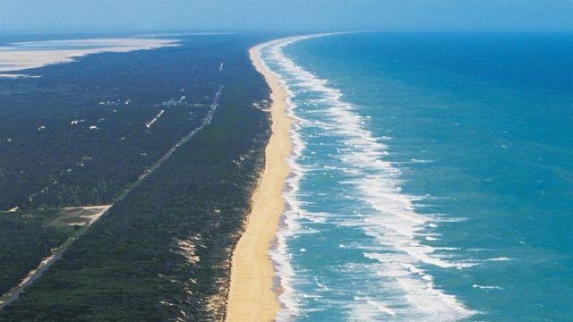 Пляж «Девяносто миль» - непрерывный пляж в Австралии (6 фото)