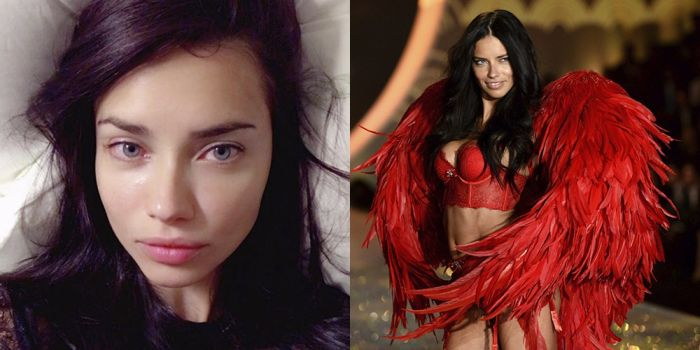 Ангелы Victoria's Secret в жизни и на подиуме (13 фото)