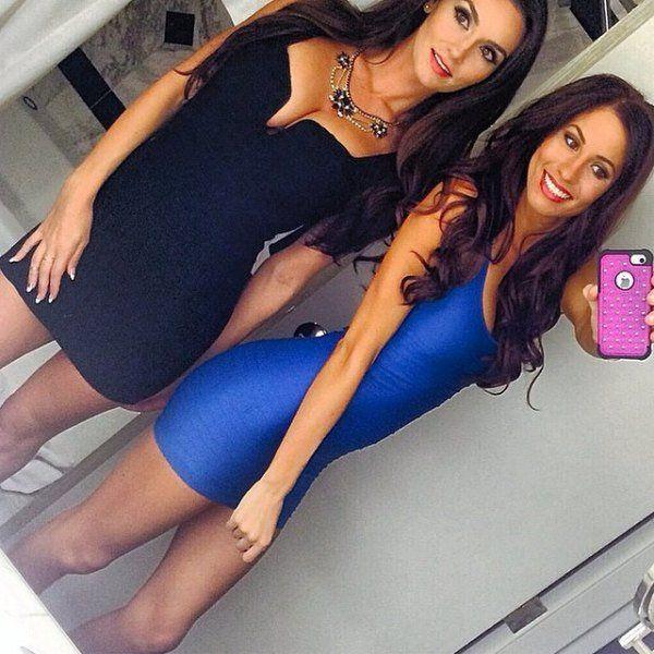 Девушки в обтягивающих и облегающих нарядах (32 фото)