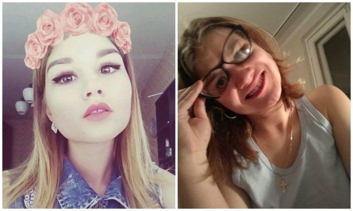 Прекрасные девушки из соцсетей вовсе не такие прекрасные (19 фото)