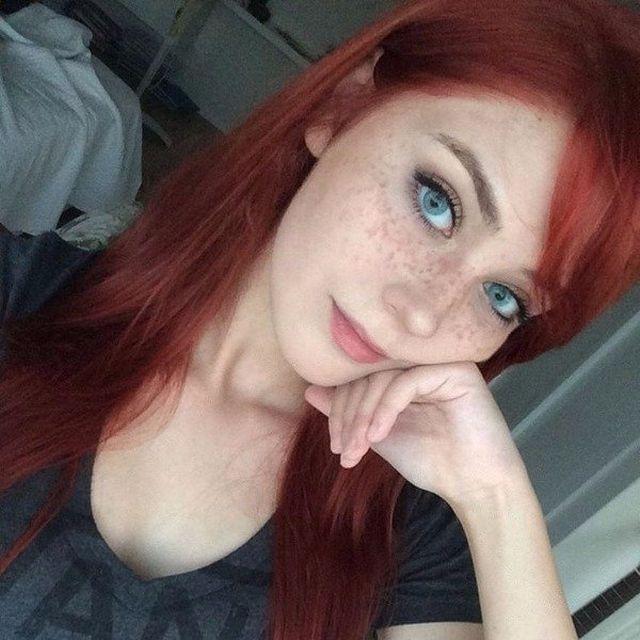 Прекрасные рыжие девушки (28 фото)