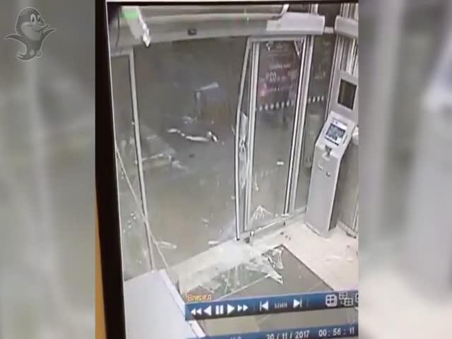 Кража банкомата в Черноголовке